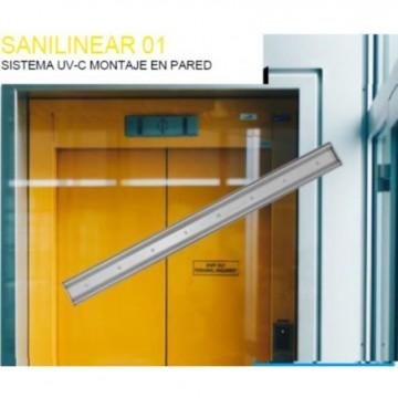 OVERLED Lámparas y tubos de Luz ultravioleta SISTEMA UV-C 20W 275 NM MONTAJE EN PARED/ ESQUINA